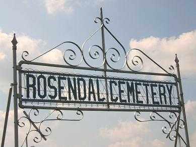 *CEMETERY, ROSENDAL - Minnehaha County, South Dakota   ROSENDAL *CEMETERY - South Dakota Gravestone Photos