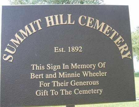 *CEMETERY, SUMMIT HILL - Minnehaha County, South Dakota   SUMMIT HILL *CEMETERY - South Dakota Gravestone Photos