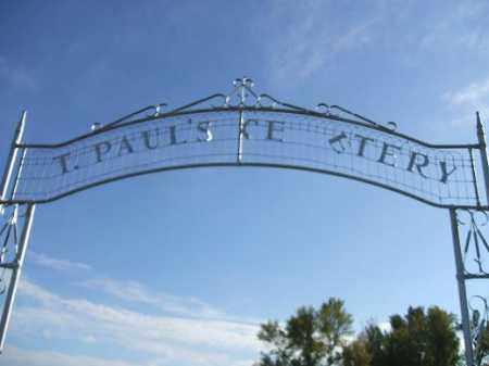 *CEMETERY, SAINT PAULS - Minnehaha County, South Dakota | SAINT PAULS *CEMETERY - South Dakota Gravestone Photos
