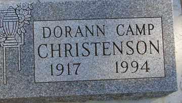 CHRISTENSON, DORANN KATHRYN - Minnehaha County, South Dakota   DORANN KATHRYN CHRISTENSON - South Dakota Gravestone Photos