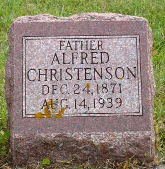 CHRISTENSON, ALFRED - Minnehaha County, South Dakota | ALFRED CHRISTENSON - South Dakota Gravestone Photos