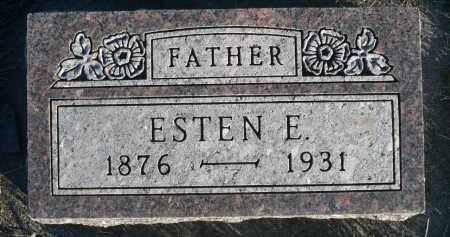CHRISTENSON, ESTEN E. - Minnehaha County, South Dakota | ESTEN E. CHRISTENSON - South Dakota Gravestone Photos