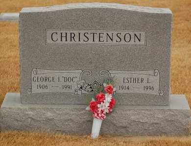 CHRISTENSON, ESTHER L. - Minnehaha County, South Dakota | ESTHER L. CHRISTENSON - South Dakota Gravestone Photos