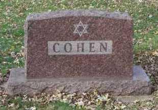 COHEN, FAMILY MARKER - Minnehaha County, South Dakota | FAMILY MARKER COHEN - South Dakota Gravestone Photos