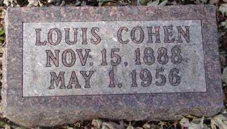 COHEN, LOUIS - Minnehaha County, South Dakota   LOUIS COHEN - South Dakota Gravestone Photos