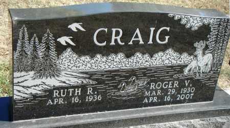 ASCHOFF CRAIG, RUTH R. - Minnehaha County, South Dakota   RUTH R. ASCHOFF CRAIG - South Dakota Gravestone Photos