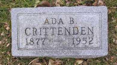 CRITTENDEN, ADA BELL - Minnehaha County, South Dakota   ADA BELL CRITTENDEN - South Dakota Gravestone Photos
