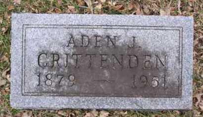 CRITTENDEN, ADEN J. - Minnehaha County, South Dakota   ADEN J. CRITTENDEN - South Dakota Gravestone Photos