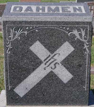 DAHMEN, FAMILY MARKER - Minnehaha County, South Dakota | FAMILY MARKER DAHMEN - South Dakota Gravestone Photos