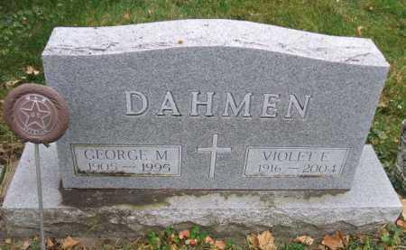 DAHMEN, GEORGE M. - Minnehaha County, South Dakota | GEORGE M. DAHMEN - South Dakota Gravestone Photos