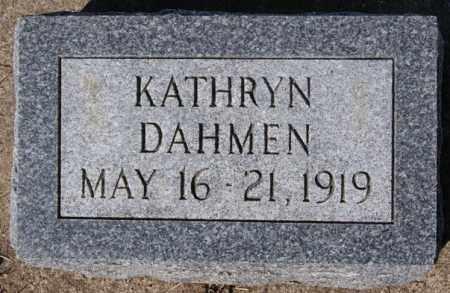 DAHMEN, KATHRYN - Minnehaha County, South Dakota | KATHRYN DAHMEN - South Dakota Gravestone Photos