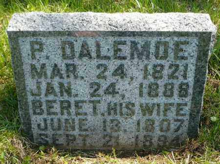 DALEMOE, BERET - Minnehaha County, South Dakota | BERET DALEMOE - South Dakota Gravestone Photos