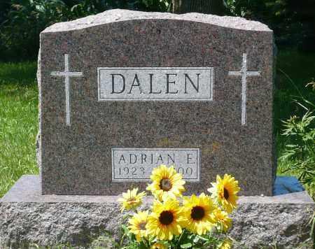 DALEN, ADRIAN EUGENE - Minnehaha County, South Dakota   ADRIAN EUGENE DALEN - South Dakota Gravestone Photos