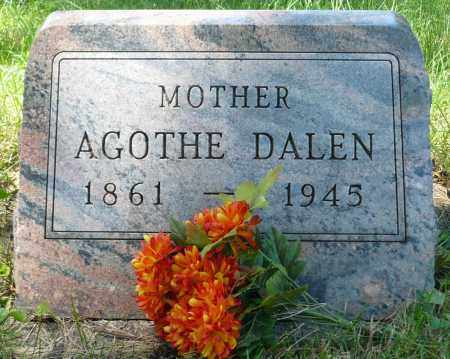 DALEN, AGOTHE - Minnehaha County, South Dakota | AGOTHE DALEN - South Dakota Gravestone Photos