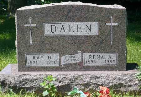 DALEN, RENA A. - Minnehaha County, South Dakota   RENA A. DALEN - South Dakota Gravestone Photos