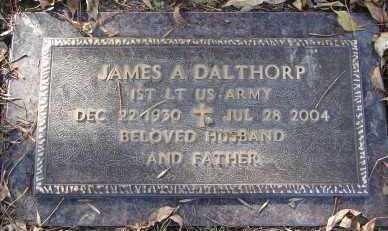 DALTHORP, JAMES A. - Minnehaha County, South Dakota   JAMES A. DALTHORP - South Dakota Gravestone Photos