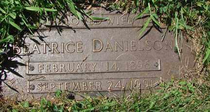 DANIELSON, BEATRICE - Minnehaha County, South Dakota | BEATRICE DANIELSON - South Dakota Gravestone Photos