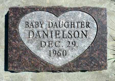 DANIELSON, BABY DAUGHTER - Minnehaha County, South Dakota | BABY DAUGHTER DANIELSON - South Dakota Gravestone Photos