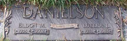 DANIELSON, LUELLA L. - Minnehaha County, South Dakota   LUELLA L. DANIELSON - South Dakota Gravestone Photos