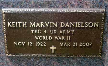 DANIELSON, KEITH MARVIN (WWII) - Minnehaha County, South Dakota | KEITH MARVIN (WWII) DANIELSON - South Dakota Gravestone Photos
