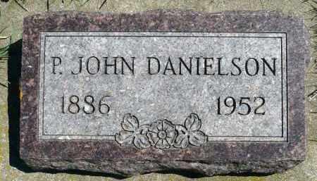 DANIELSON, P. JOHN - Minnehaha County, South Dakota   P. JOHN DANIELSON - South Dakota Gravestone Photos