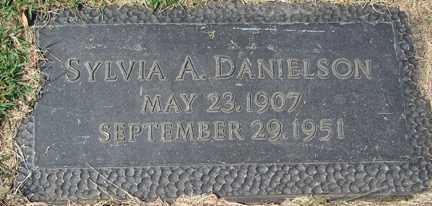 DANIELSON, SYLVIA A. - Minnehaha County, South Dakota | SYLVIA A. DANIELSON - South Dakota Gravestone Photos