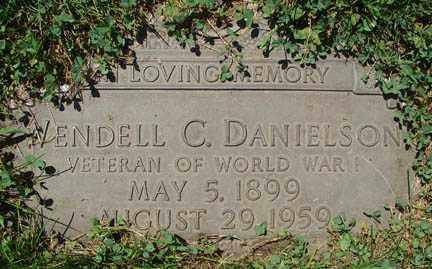 DANIELSON, WENDALL C. - Minnehaha County, South Dakota | WENDALL C. DANIELSON - South Dakota Gravestone Photos