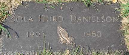 HURD DANIELSON, ZOLA - Minnehaha County, South Dakota | ZOLA HURD DANIELSON - South Dakota Gravestone Photos