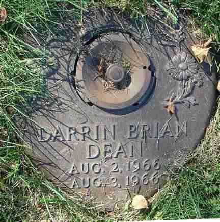 DEAN, DARRIN BRIAN - Minnehaha County, South Dakota | DARRIN BRIAN DEAN - South Dakota Gravestone Photos