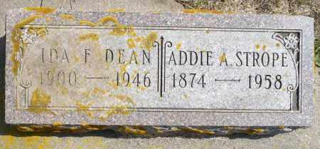 DEAN, IDA F. - Minnehaha County, South Dakota | IDA F. DEAN - South Dakota Gravestone Photos