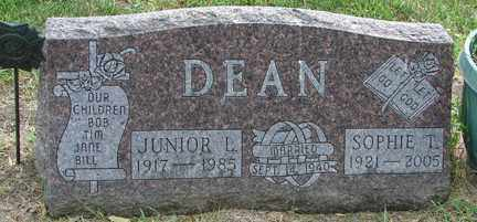 DEAN, JUNIOR L. - Minnehaha County, South Dakota | JUNIOR L. DEAN - South Dakota Gravestone Photos