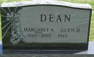 DEAN, MARGARET A. - Minnehaha County, South Dakota | MARGARET A. DEAN - South Dakota Gravestone Photos
