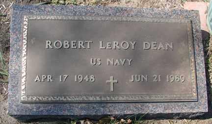 DEAN, ROBERT LEROY - Minnehaha County, South Dakota   ROBERT LEROY DEAN - South Dakota Gravestone Photos