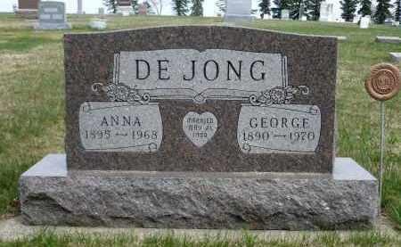 DEJONG, ANNA - Minnehaha County, South Dakota | ANNA DEJONG - South Dakota Gravestone Photos