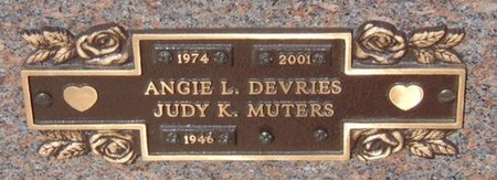 MUTERS, JUDY K. - Minnehaha County, South Dakota | JUDY K. MUTERS - South Dakota Gravestone Photos