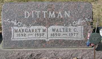 DITTMAN, WALTER C. - Minnehaha County, South Dakota | WALTER C. DITTMAN - South Dakota Gravestone Photos