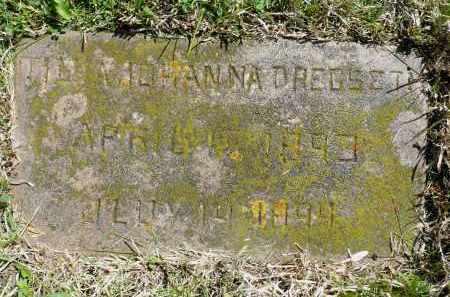 DREGSETH, TILDA JOHANNA - Minnehaha County, South Dakota | TILDA JOHANNA DREGSETH - South Dakota Gravestone Photos