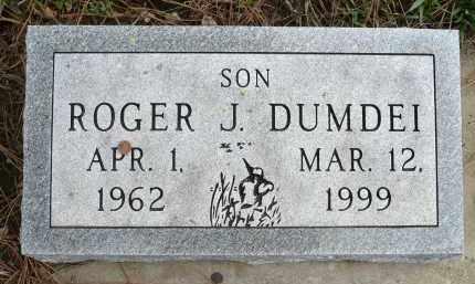 DUMDEI, ROGER J. - Minnehaha County, South Dakota | ROGER J. DUMDEI - South Dakota Gravestone Photos