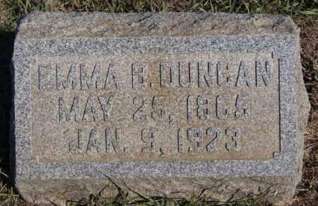 DUNCAN, EMMA B - Minnehaha County, South Dakota | EMMA B DUNCAN - South Dakota Gravestone Photos