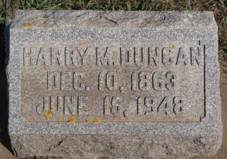 DUNCAN, HARRY M - Minnehaha County, South Dakota | HARRY M DUNCAN - South Dakota Gravestone Photos