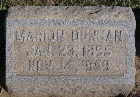 DUNCAN, MARION - Minnehaha County, South Dakota | MARION DUNCAN - South Dakota Gravestone Photos