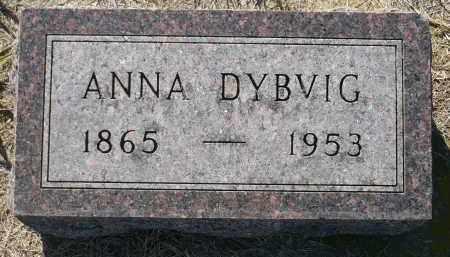 HENDRICKSON DYBVIG, ANNA KATHERINE - Minnehaha County, South Dakota   ANNA KATHERINE HENDRICKSON DYBVIG - South Dakota Gravestone Photos