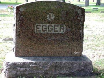 EGGER, FAMILY HEADSTONE - Minnehaha County, South Dakota | FAMILY HEADSTONE EGGER - South Dakota Gravestone Photos