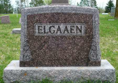 ELGAAEN, FAMILY MARKER - Minnehaha County, South Dakota | FAMILY MARKER ELGAAEN - South Dakota Gravestone Photos
