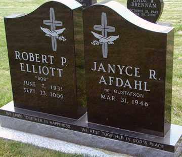 AFDAHL, JANYCE R. - Minnehaha County, South Dakota   JANYCE R. AFDAHL - South Dakota Gravestone Photos