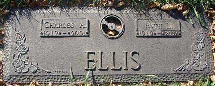 HOUG ELLIS, RUTH L. - Minnehaha County, South Dakota | RUTH L. HOUG ELLIS - South Dakota Gravestone Photos