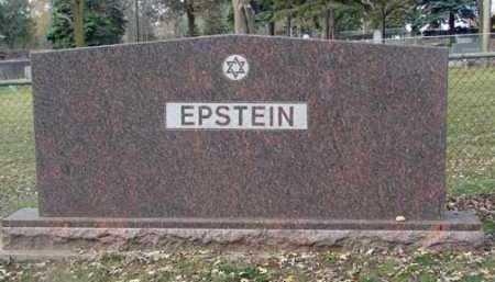 EPSTEIN, FAMILY MARKER - Minnehaha County, South Dakota | FAMILY MARKER EPSTEIN - South Dakota Gravestone Photos