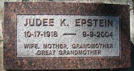 KOPLOW EPSTEIN, JUDEE K. - Minnehaha County, South Dakota | JUDEE K. KOPLOW EPSTEIN - South Dakota Gravestone Photos
