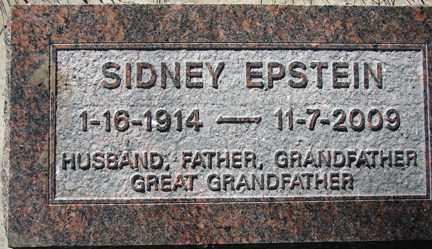 EPSTEIN, SIDNEY - Minnehaha County, South Dakota | SIDNEY EPSTEIN - South Dakota Gravestone Photos