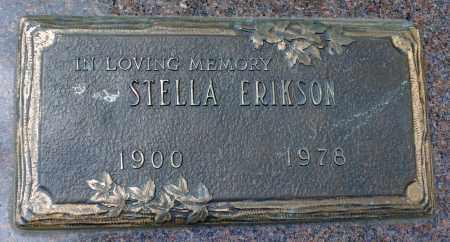 ERIKSON, STELLA - Minnehaha County, South Dakota | STELLA ERIKSON - South Dakota Gravestone Photos